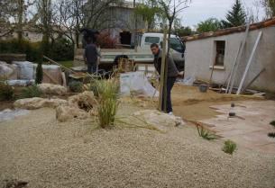 Création jardin poitiers